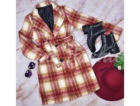 Kabát Lia Plaid