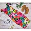 Midi šaty Exotic Floral