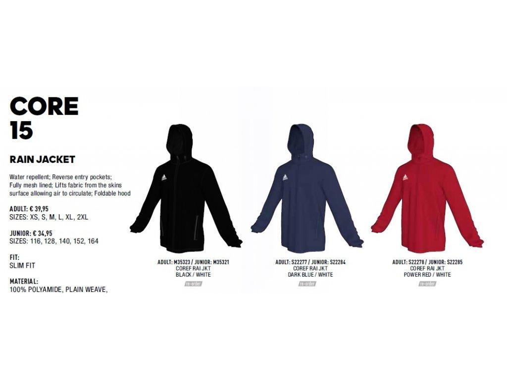 Bunda Rain Jacket Core 15 - www.kelme.sk 14407c3f04c