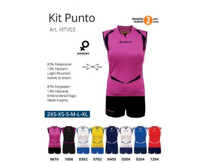 Volejbalový dres Punto