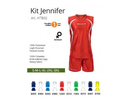 Basketbalový dres Jennifer