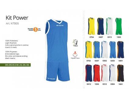 Basketbalový dres Power