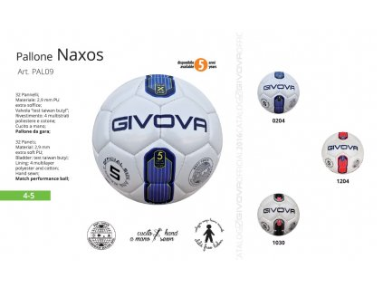 Futbalová lopta Naxos