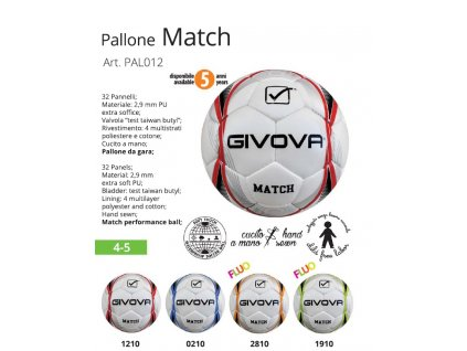Futbalová lopta Match