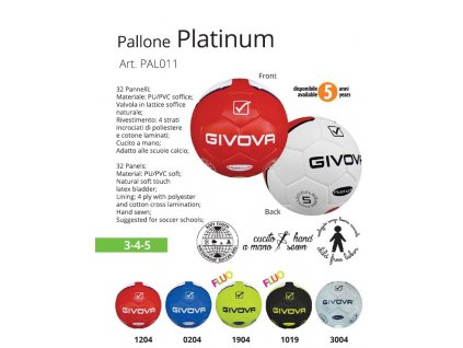 Futbalová lopta Platinium