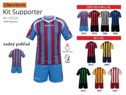 Futbalový dres Supporter