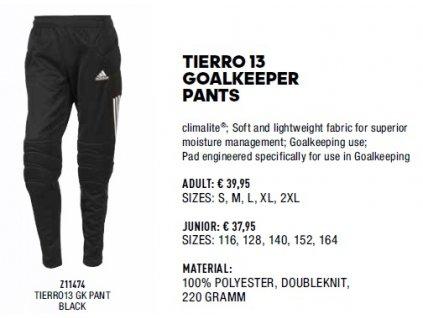 Tierro 13 goalkeeeper pants