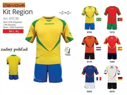 Futbalový dres Region