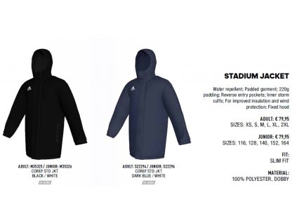 Stadium Jacket Core 15