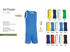 Basketbalový dres Power