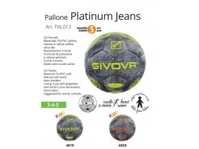 Futbalová lopta Platinium Jeans
