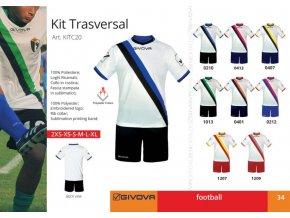 Futbalový dres Trasversal