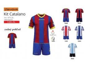 Futbalový dres Catalano