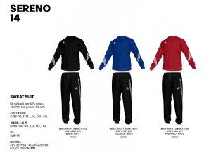 Sereno 14 Swet Suit