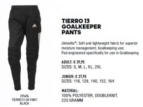 Tierro 13 goalkeeeper pants