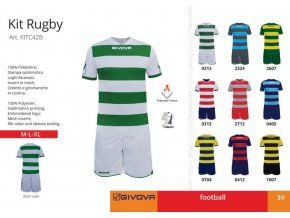 Futbalový dres Rugby