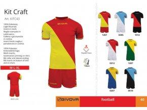 Futbalový dres Craft
