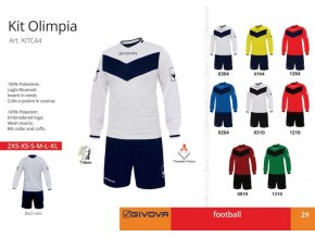 Futbalový dres Olimpia