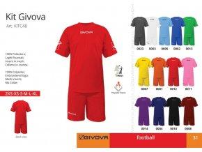 Futbalový dres Givova
