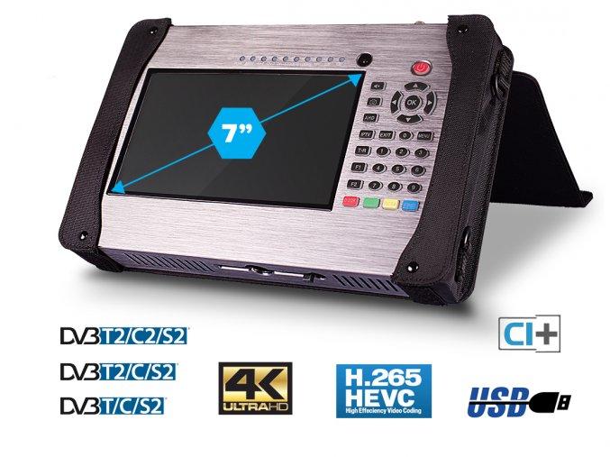 Profinder HEVC Combo DVB-S/S2/T/T2/C