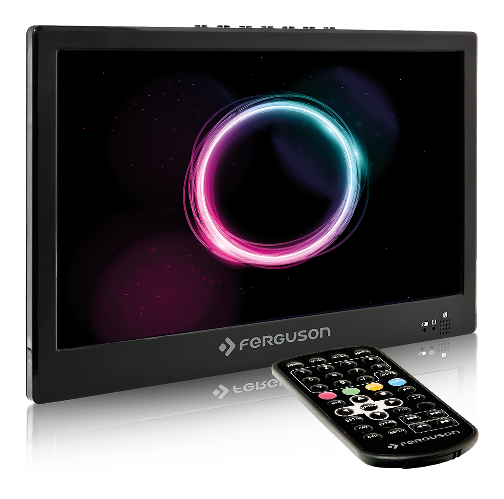 Ferguson PHT2-10 DVB-T2 H.265 12V - přenosný televizor