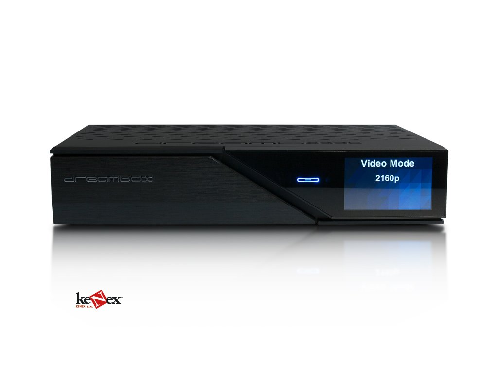 Dreambox DM-920 UHD 4K Triple (2xDVB-S2 + 1xC/T2) Speciální cena pro  registrované