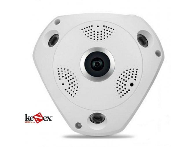 VR-P1-130 panoramatická rybí oko IP kamera