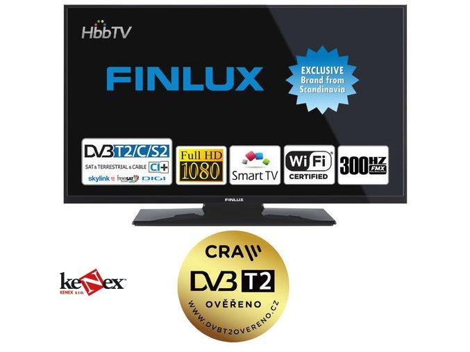 finlux 43ffc5660 t2 sat hbb tv smart wifi