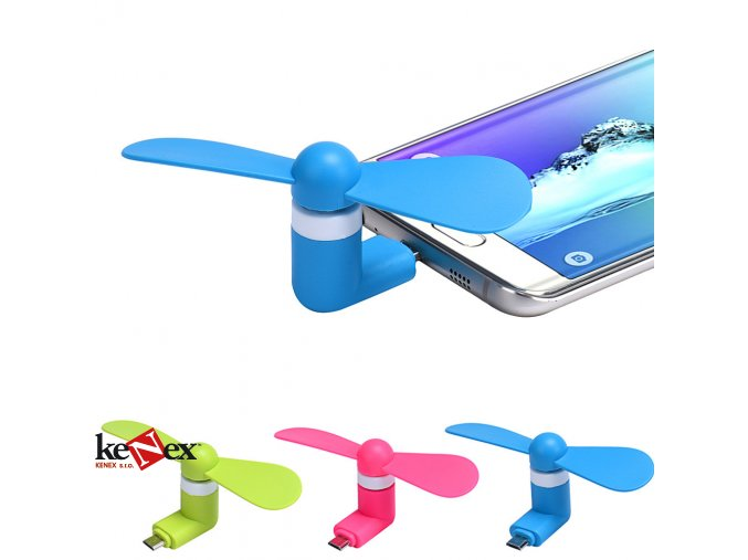ventilator pro mobilni telefon pro android
