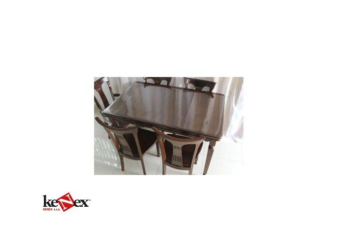 Ubrus na stůl z měkkého skla 50x100