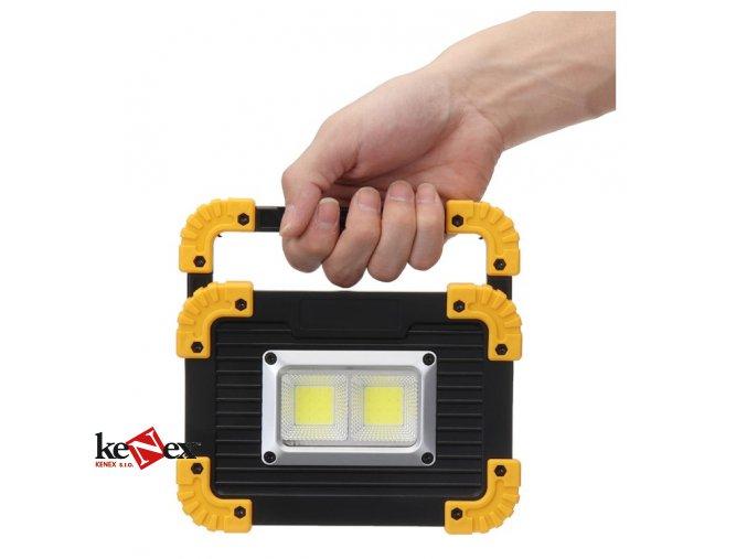 20w cob led pracovni svetlo prenosne usb ll 812