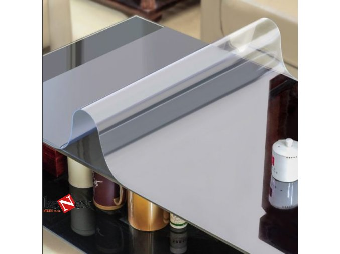 ubrus na stul z mekkeho skla 54x102cm