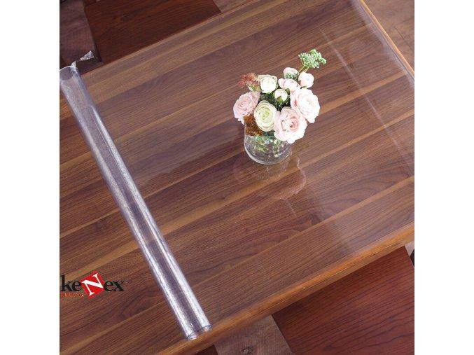 ubrus na stul z mekkeho skla 198x68 cm