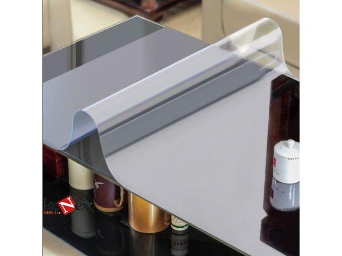 ubrus na stul z mekkeho skla 35x70 cm