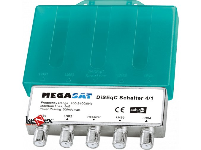 megasat diseqc switch 41