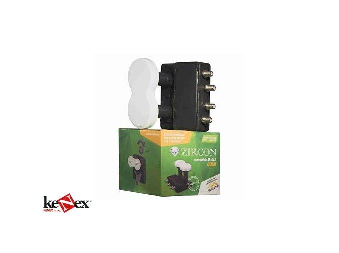 zircon konvertor monoblock quad