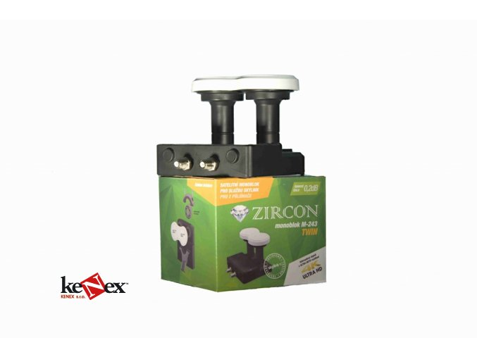 zircon konvertor monoblock twin