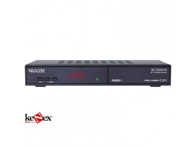 mascom mc2350hd ir digitalni satelitni prijimac