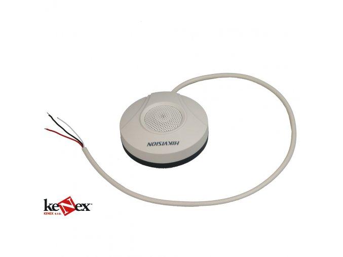 hikvision ds2fp2020 stropni mikrofon pro kamery