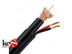 vnitrni multikabel rg59 2x1mm 100m