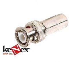 bnc konektor samorezny 5mm na rg58 3c2v