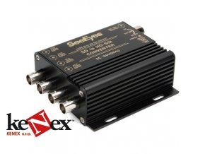 prevodnik 4x sd na hd sdi 1080p sc sdhd04q