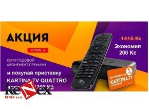 akce kartina tv premium predplatne na 1 rok kartina tv quattro