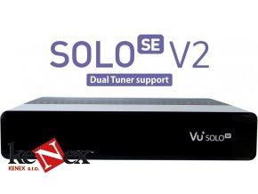 vu solo se v2 cerny single tuner s2