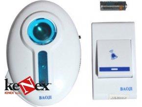 domovni bezdratovy zvonek na baterie doorbell