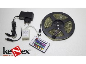 led paska 3528 rgb 12v set 5m 2