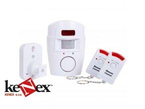 mobilni alarm s dalkovym ovladacem yl 105