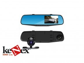 kvalitni kamera do auta ve zpetnem zrcatku se zpetnou kamerou lcd 4 3_7