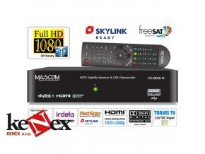 Mascom MC280HD IR HD satelitni prijimac USB PVR  Skylink Ready Irdeto