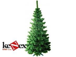 arci umely vanocni stromek jedle s zelenymi konci 100 cm stojan_2